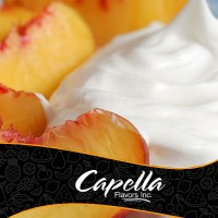 Peaches and Cream Capella Flavour Concentrate 10 ml