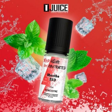 Menthe RED concentrate 10ml
