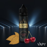 VAPY CHERRY PIPE E-LIQUID 60ML 6MG 75/25
