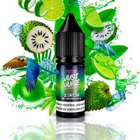 Just Juice Nic Salt Exotic Fruits Guanabana & Lime On Ice 10ml 20mg