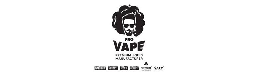 PRO VAPE 60ml 3mg and 6mg nicotine